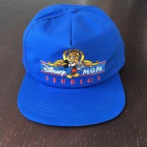 Vintage Disney MGM Studios SnapBack cap USA made